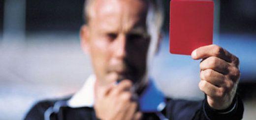 ТОП-10 красных карточек